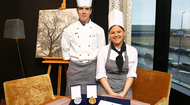 "Two cooks of Crowne Plaza St. Petersburg Airport Hotel became laureates of the annual contest ""Best in profession"""